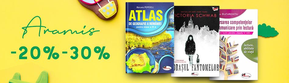 Oferta Libris: Editura Aramis - reducere de 20-25%