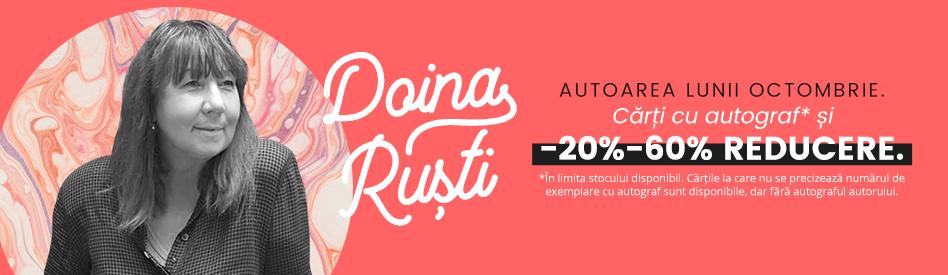 Oferta Libris: Autorul lunii - Doina Ruşti - reducere 20% + autograf