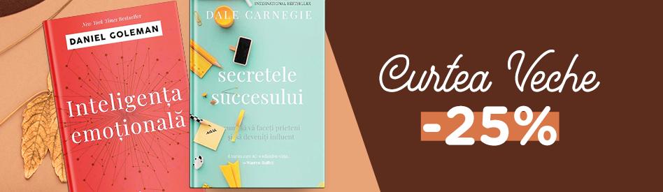 Oferta Libris: Editura Curtea Veche - reduceri de 25%