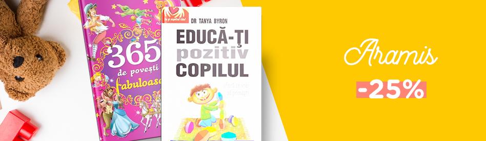 Oferta Libris: Editura Aramis - reducere de 25%