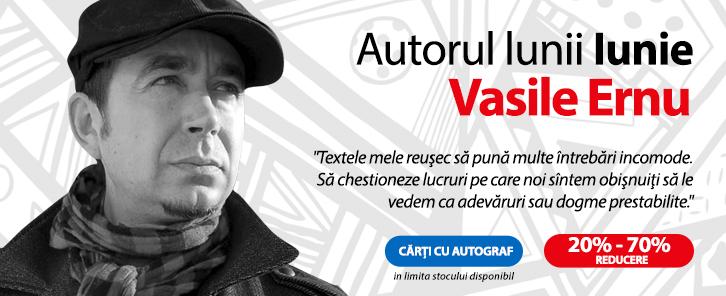 Autorul lunii iunie la Libris - Vasile Ernu