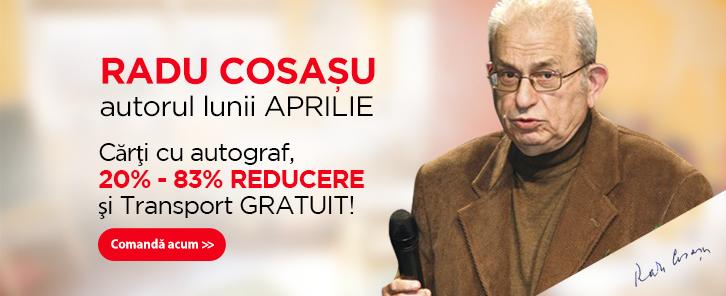 Autorul lunii la Libris: Radu Cosa�u - reduceri de 20-83%