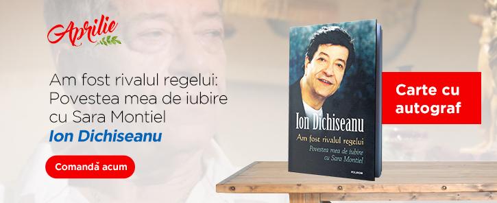 Ion Dichiseanu: Carte cu autograf!