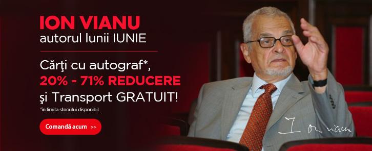 Autorul lunii la Libris: Ion Vianu - reducere de 20%