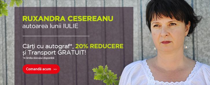 Autorul lunii la Libris: Ruxandra Cesereanu - reducere de 20%