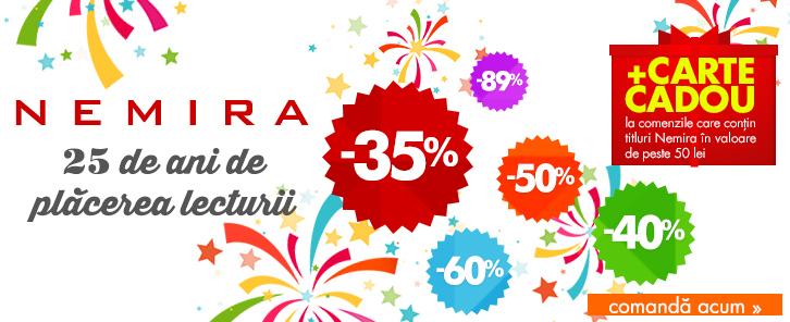 Weekend Nemira - reduceri de 35-91%