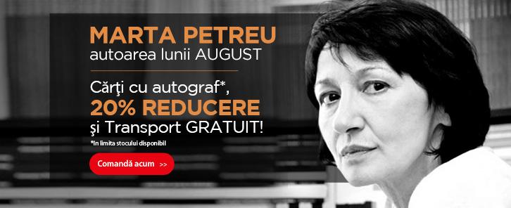 Autorul lunii la Libris: Marta Petreu - reducere de 20%