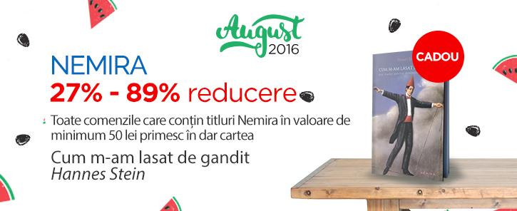 Editura Nemira - reduceri de 27-89%