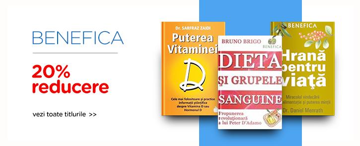 Editura Benefica - reducere de 20%