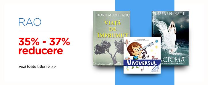 Editura RAO - reduceri de 35-37%