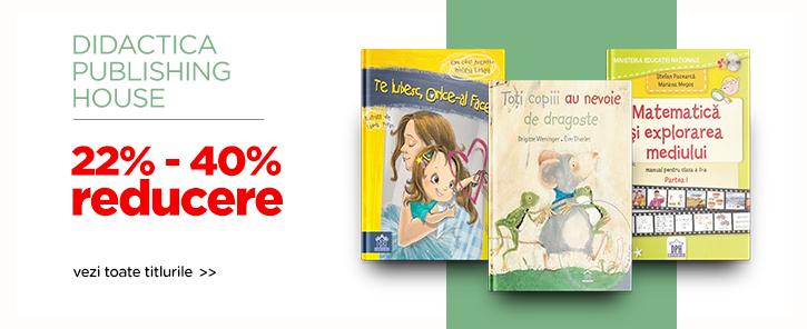 Editura DPH - reduceri de 22-40%