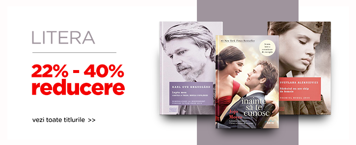 Editura Litera - reduceri de 22-40%