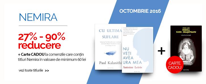 Editura Nemira - reduceri de 27-90% + carte cadou