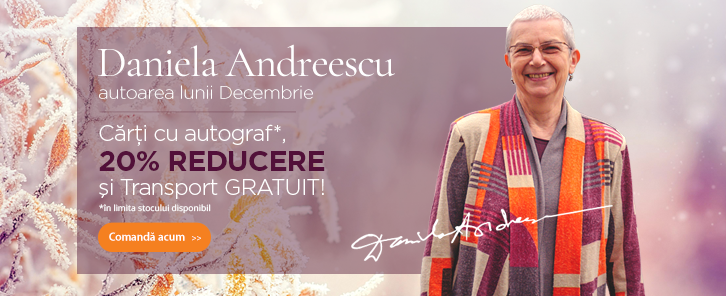 Autorul lunii la Libris: Daniela Andreescu - reducere de 20%