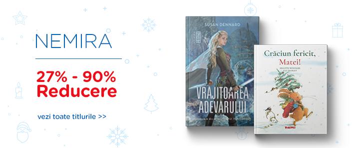 Editura Nemira - reduceri de 50-90%