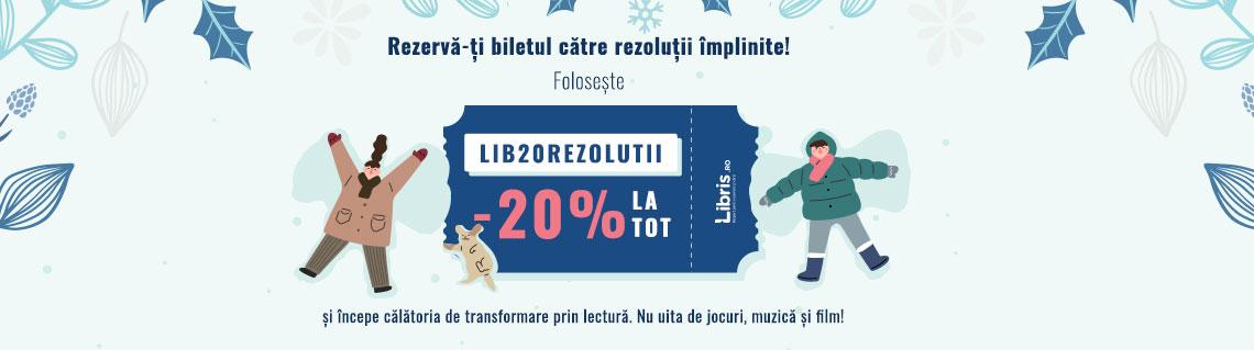 Oferta zilei la Libris - reducere de 20%