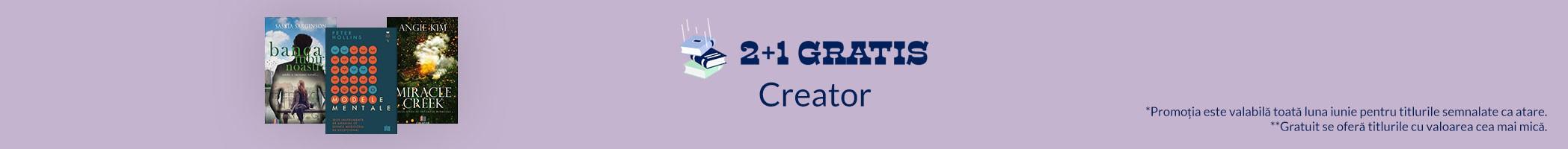 Creator iunie reduceri