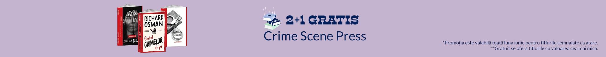 Crime Scene Press iunie reduceri