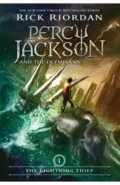 Percy Jackson and the Olympians, Book One the Lightning Thief - Rick Riordan