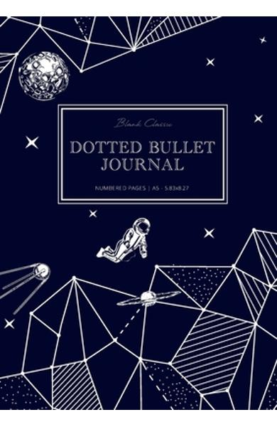Dotted Bullet Journal: Medium A5 - 5.83X8.27 (Space Walk) - Blank Classic