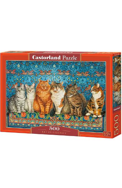 Puzzle 500. Cat Aristocracy
