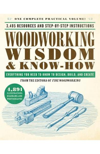 Woodworking Wisdom & Know-How: Everything You Need to Know to Design, Build, and Create - Taunton Press