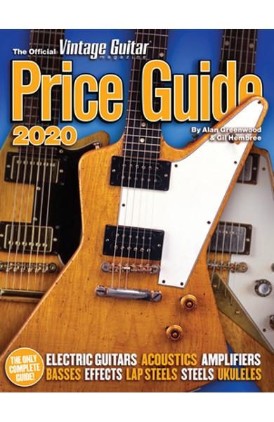 The Official Vintage Guitar Magazine Price Guide 2020 - Alan Greenwood