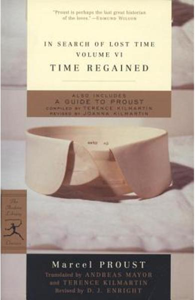 In Search of Lost Time, Volume VI: Time Regained - Marcel Proust