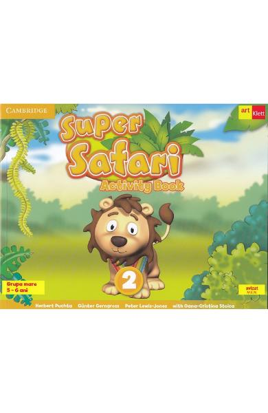 Super Safari 2. Activity Book. Limba engleza - Grupa mare + CD - Herbert Puchta