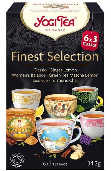 Ceai Mix Finest Selection ECO/BIO 18dz - YOGI TEA