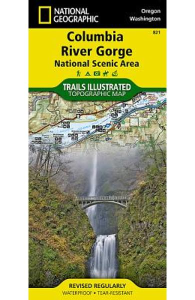 Columbia River Gorge National Scenic Area - National Geographic Maps