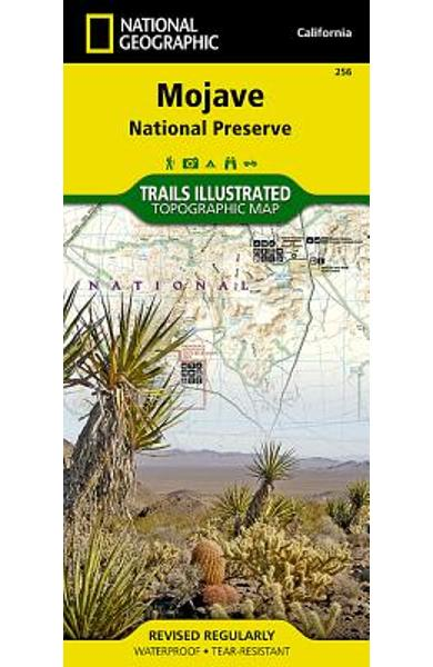 Mojave National Preserve - National Geographic Maps
