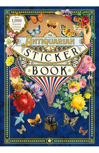 The Antiquarian Sticker Book: Over 1,000 Exquisite Victorian Stickers - Odd Dot