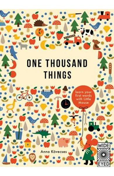 One Thousand Things: Learn Your First Words with Little Mouse - Anna Kovecses