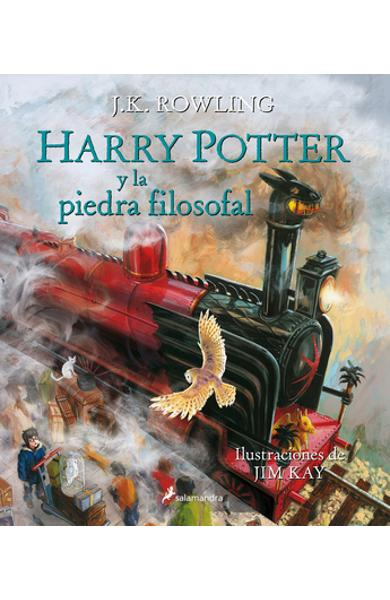 Harry Potter Y La Piedra Filosofal. Edici�n Ilustrada (Libro 1) / Harry Potter and the Sorcerer's Stone: The Illustrated Edition (Book 1) = Harry Pott - J. K. Rowling