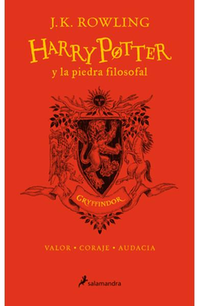 Harry Potter Y La Piedra Filosofal. Edici�n Gryffindor (Libro 1) / Harry Potter and the Sorcerer's Stone: Gryffindor Edition (Book 1) - J. K. Rowling