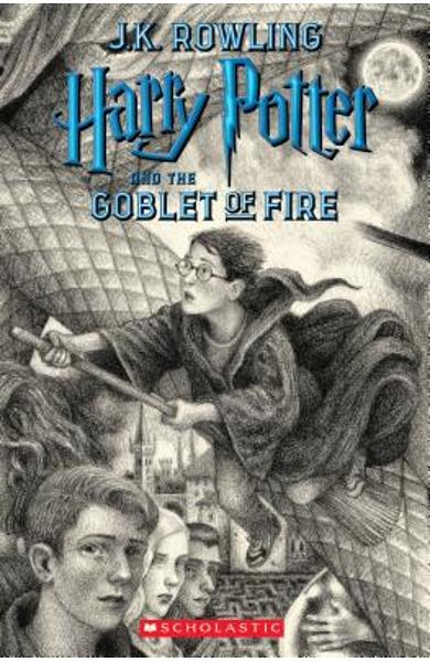 Harry Potter and the Goblet of Fire, Volume 4 - J. K. Rowling