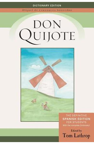 Don Quijote: Spanish Edition and Don Quijote Dictionary for Students - Miguel De Cervantes Saavedra
