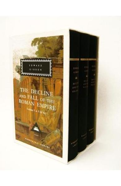 The Decline and Fall of the Roman Empire, Volumes 1 to 3 (of Six) - Edward Gibbon