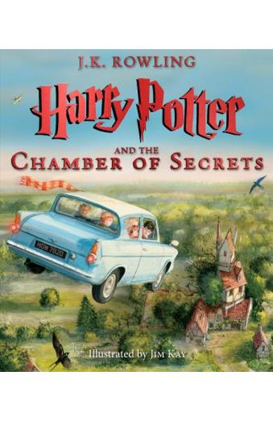 Harry Potter and the Chamber of Secrets: The Illustrated Edition (Harry Potter, Book 2), Volume 2 - J. K. Rowling
