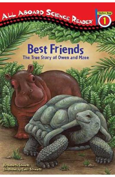 Best Friends: The True Story of Owen and Mzee - Roberta Edwards