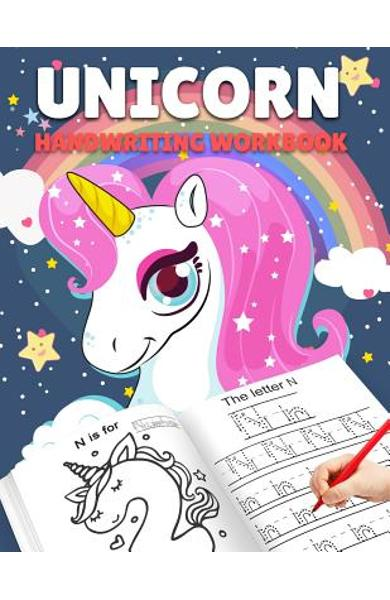 Letter Tracing Books for Kids Ages 3-5: Unicorn Handwriting Practice, Letter Tracing Book for Preschoolers, Handwriting Workbook for Pre K, Kindergart - Stephanie C. Neri