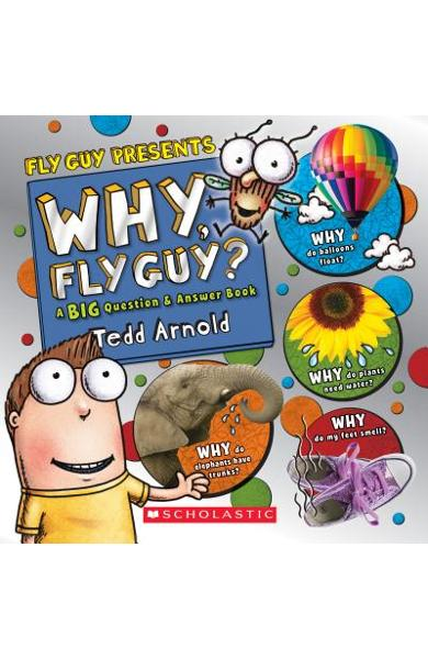 Why, Fly Guy?: Answers to Kids' Big Questions (Fly Guy Presents) - Tedd Arnold