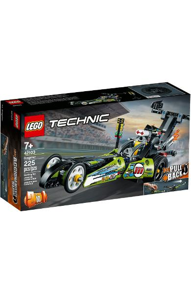 Lego Technic. Dragster