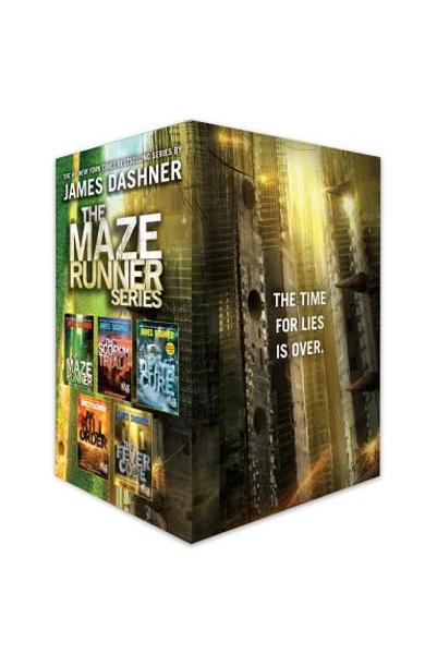 The Maze Runner Series Complete Collection Boxed Set (5-Book) - James Dashner
