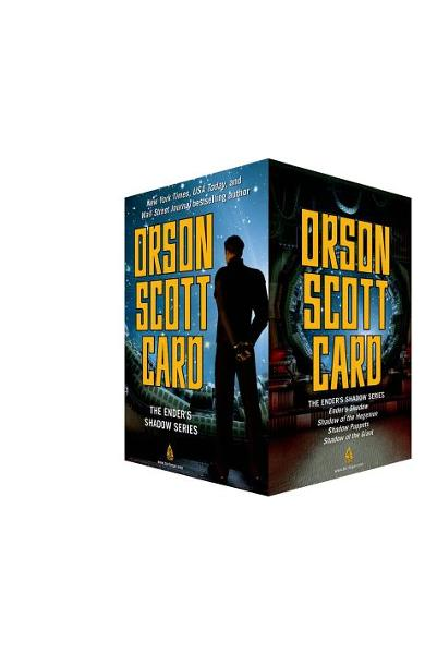 The Ender's Shadow Series Boxed Set: Ender's Shadow, Shadow of the Hegemon, Shadow Puppets, Shadow of the Giant - Orson Scott Card