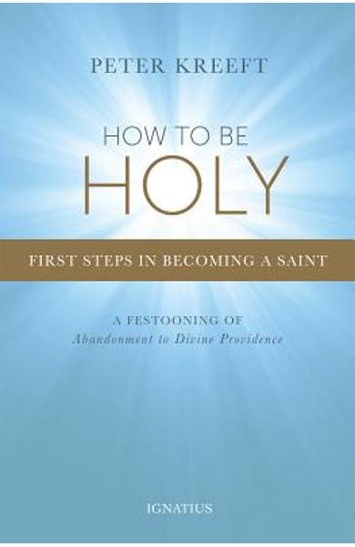 How to Be Holy: First Steps in Becoming a Saint - Peter Kreeft