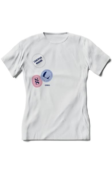 Tricou Certified Reader. We know books - Dama S