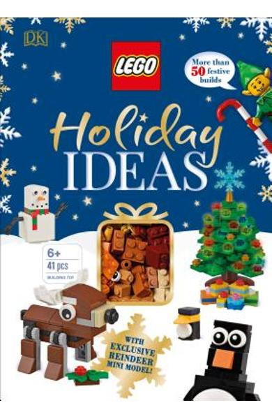 Lego Holiday Ideas: With Exclusive Reindeer Mini Model [With Toy] - Dk