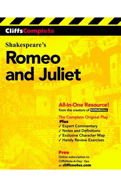 Cliffscomplete Romeo and Juliet - William Shakespeare
